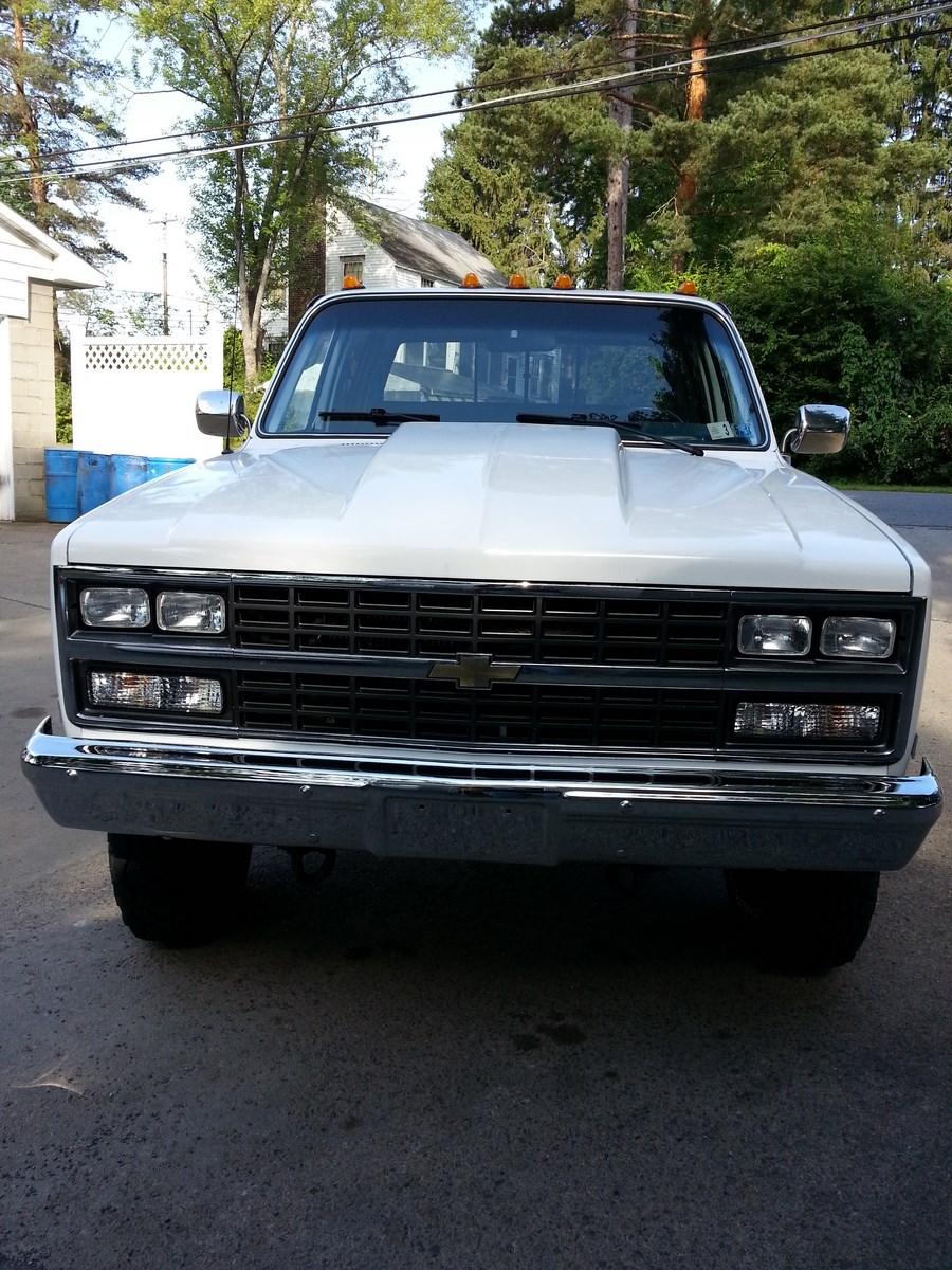 1991 91 Chevrolet Chevy Crew Cab Dually K30 V30 3500 1 One Ton 4x4 Four Wheel Drive Silverado White